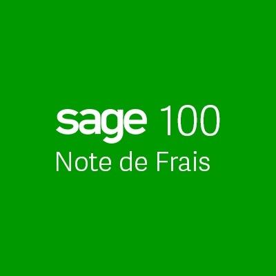Sage 100 Note de frais