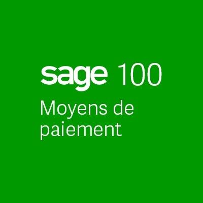 Sage100 Moyens Paiement