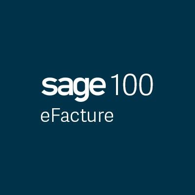 sage 100 eFacture