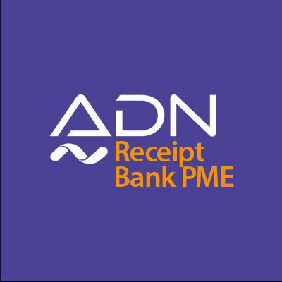 ADN RECEIPT BANK PME