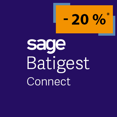 Vente flash logiciel Sage Batigest Connect
