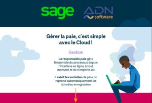 image infographie Sage Business Cloud Paie